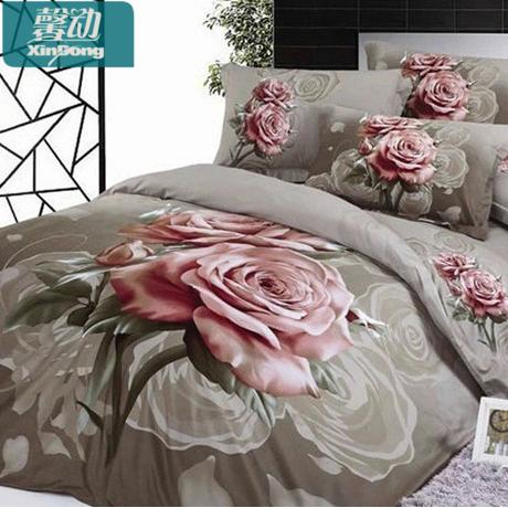 馨动纯棉床上用品被套XD2251
