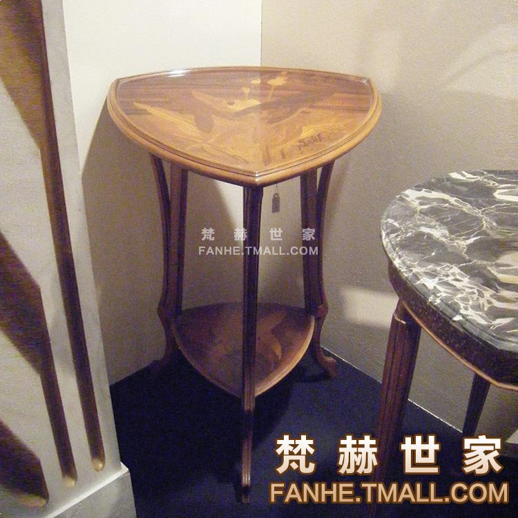 梵赫皮拼花花架f6203