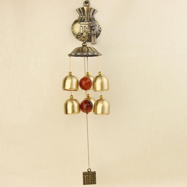 双誉韩式福袋黄铜6铃