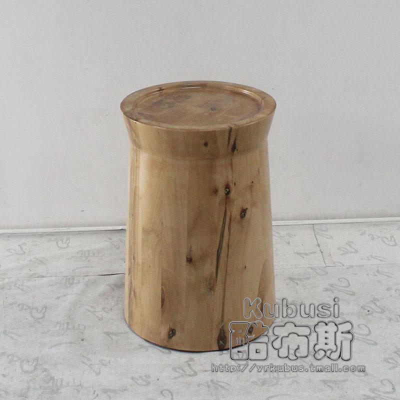 酷布斯实木桩茶几桌ww663