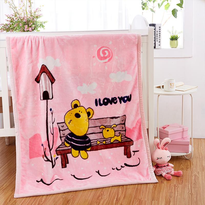 妃冠婴儿毛毯11