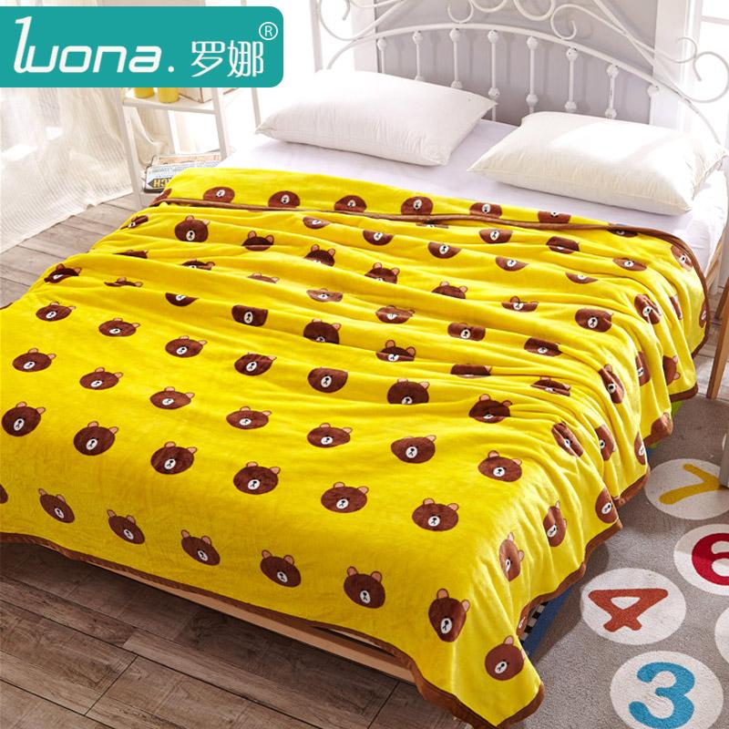 罗娜珊瑚绒毯LN-221200