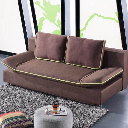 金海马多功能布艺沙发床