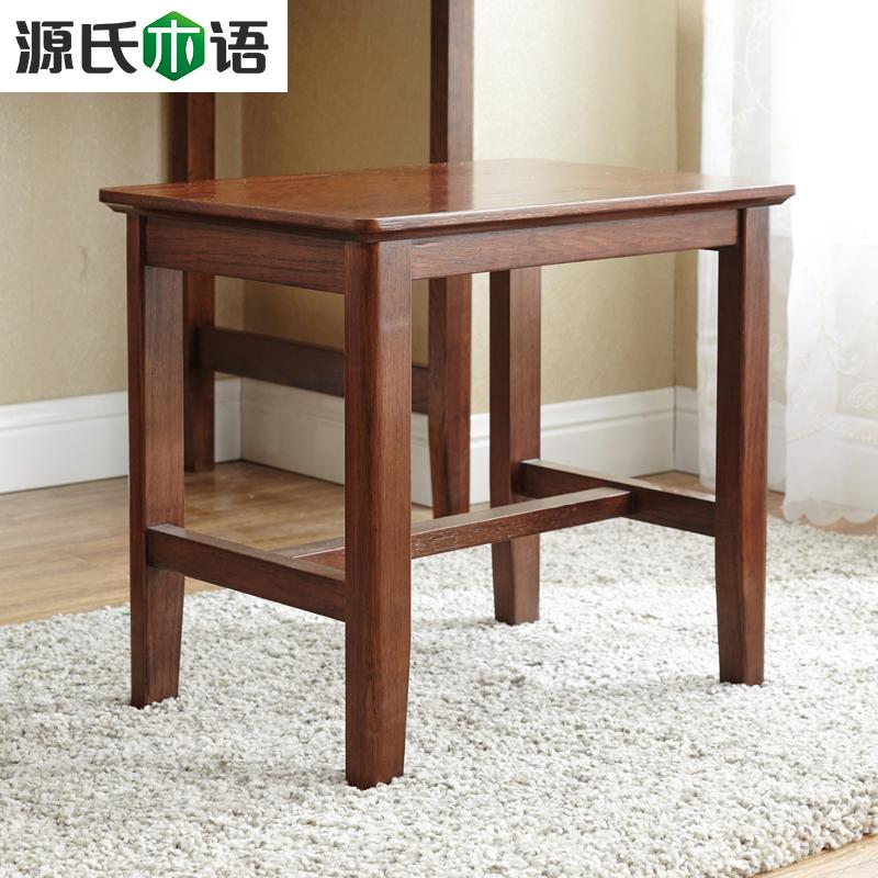 源氏木语简约小方凳Y2265