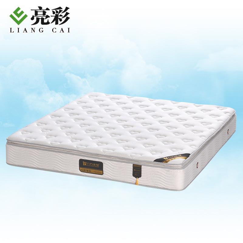 亮彩现代优质银丝针织面料床垫六方床垫2