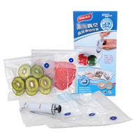 太力 食品真空压缩袋送手泵 干货防潮食物保鲜密封袋收纳袋20个装