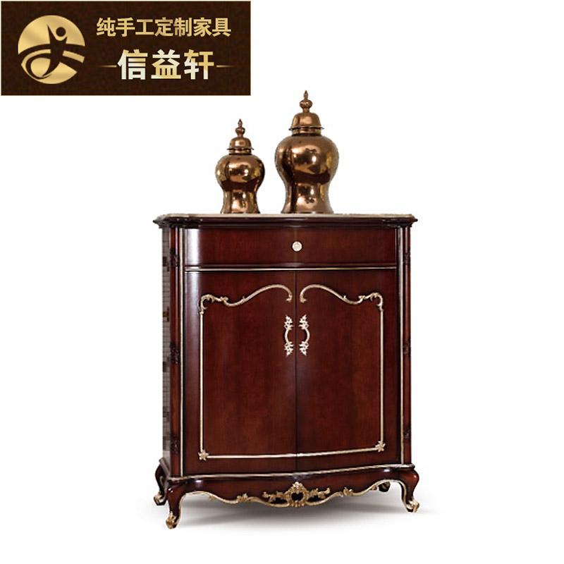 信益轩新古典实木雕花柜XG-066