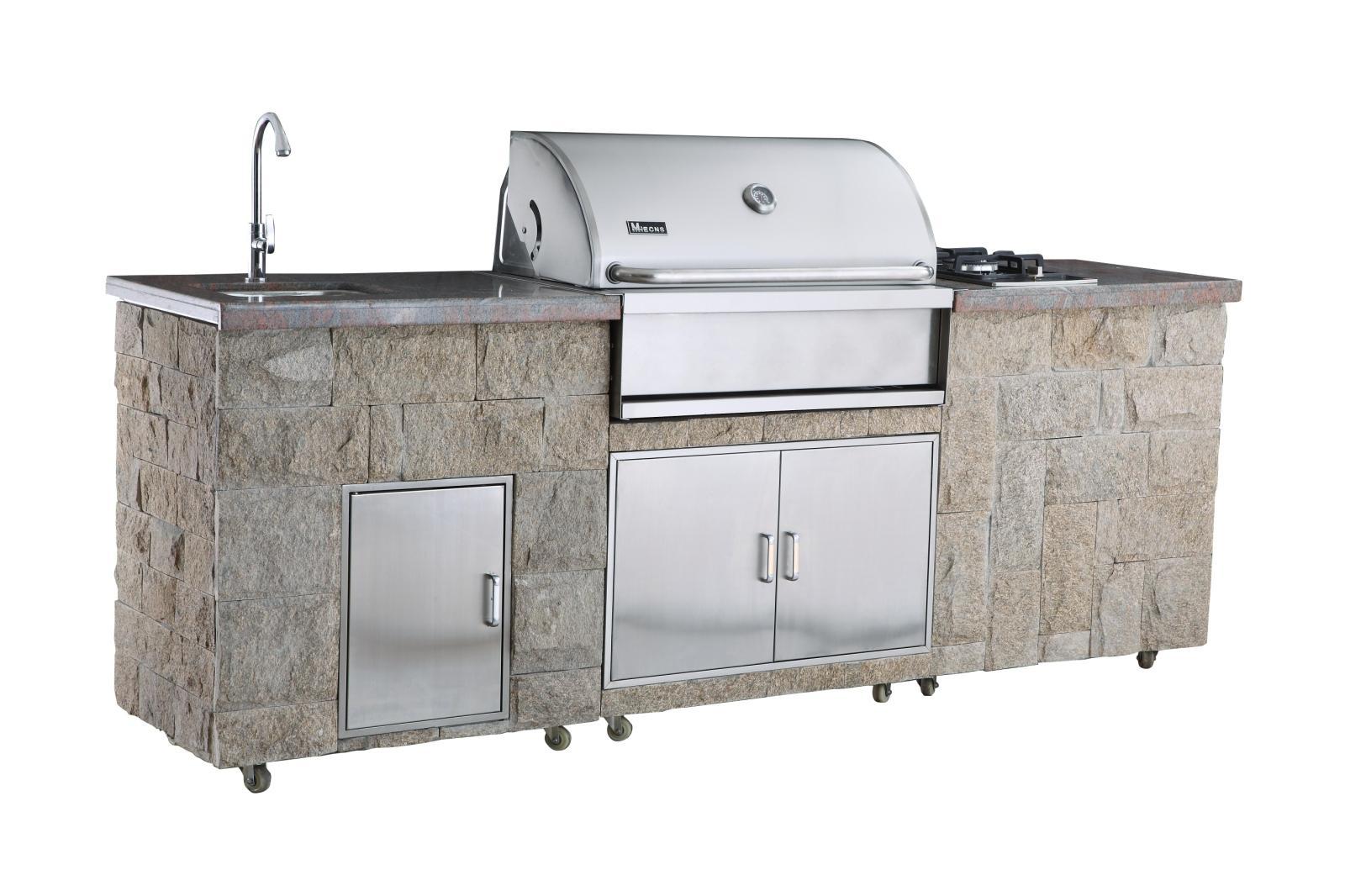 美诺仕烧烤台户外烧烤炉A315S-BM-T