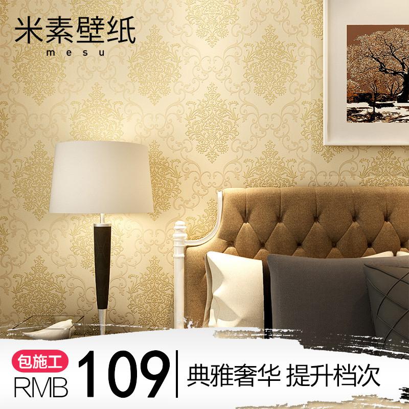 米素欧式浮雕墙纸MJ339411