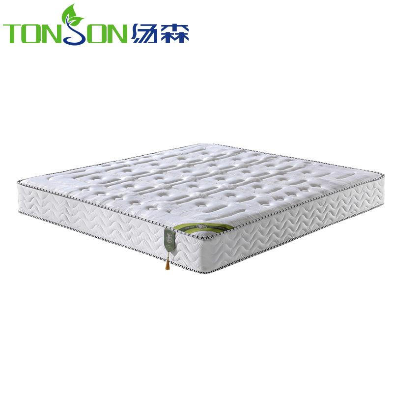汤森品牌天然高档乳胶静音弹簧床垫自由女神