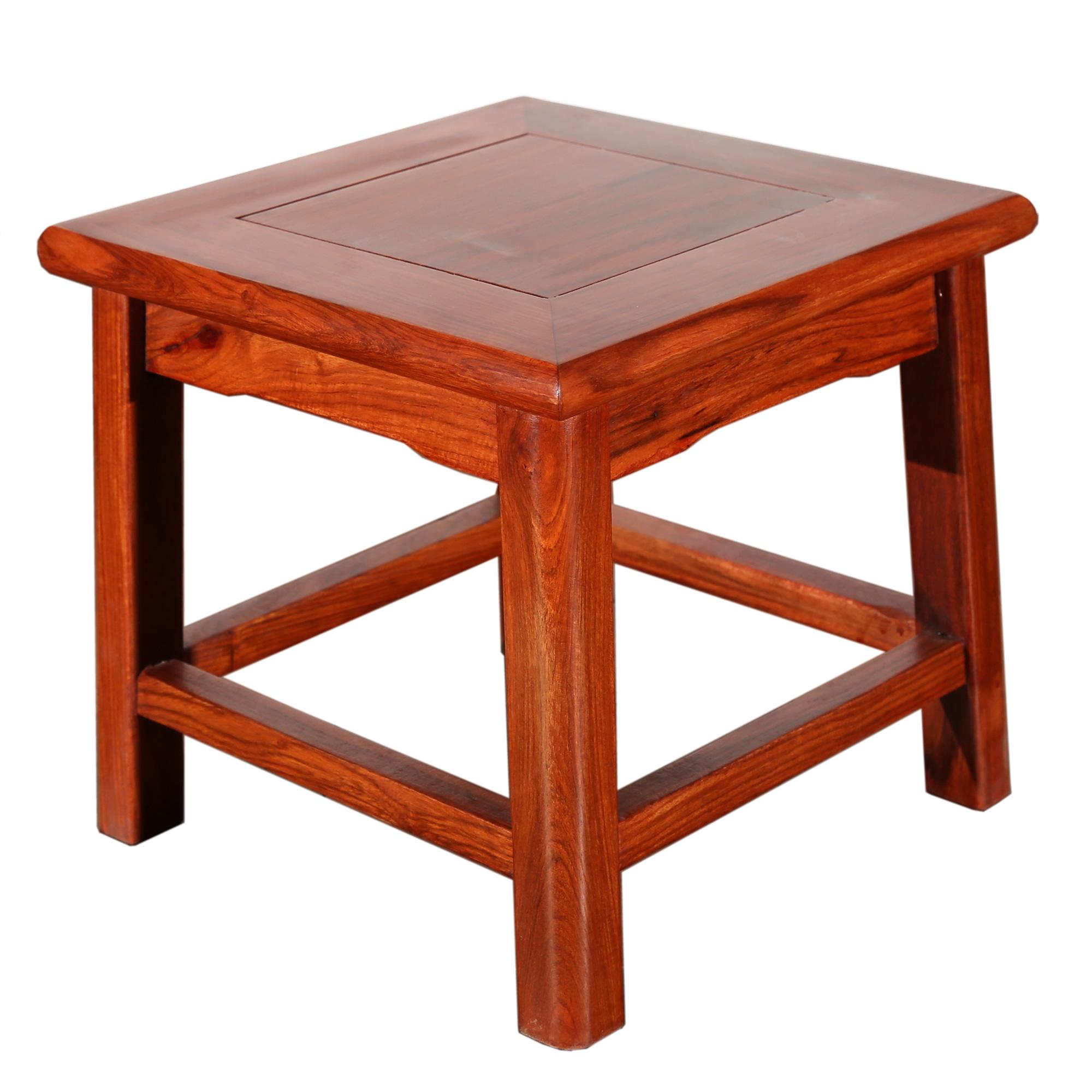 吕可可红木小板凳fd-80