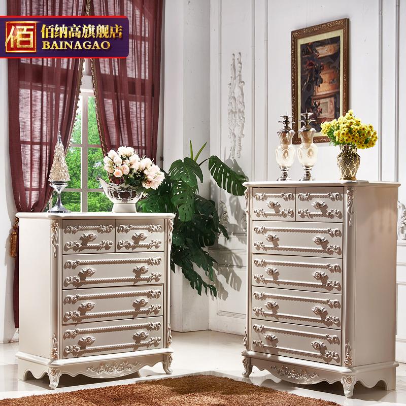 佰纳高白色烤漆储物柜