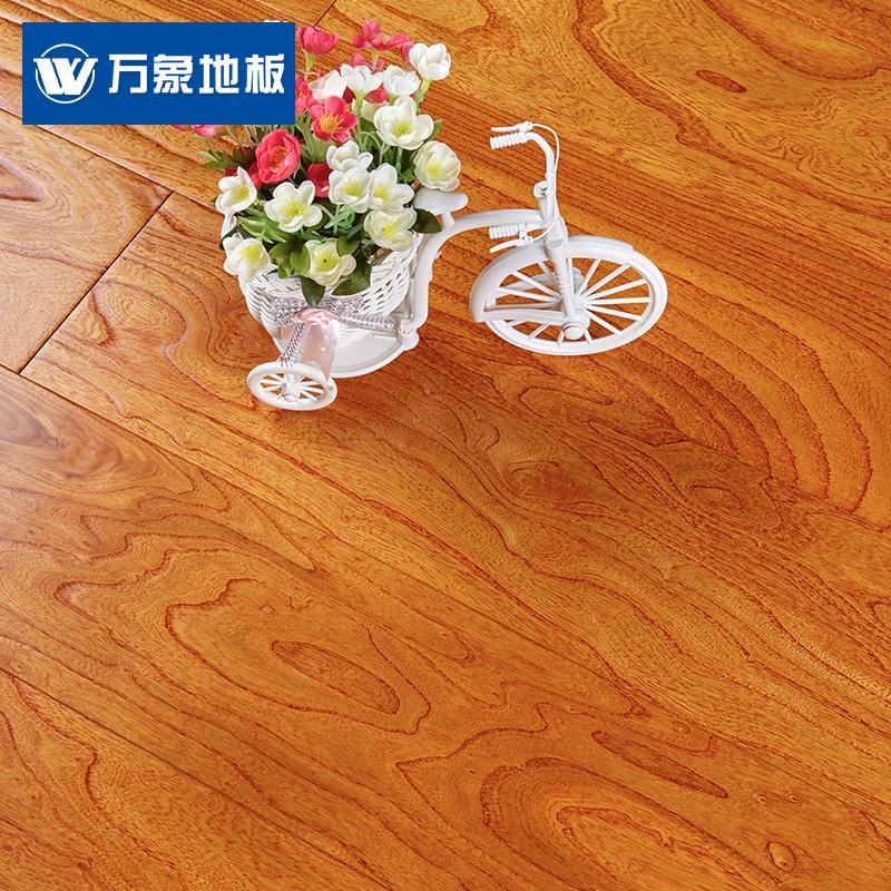 万象实木复合地板榆木大浮雕