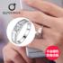 施洛芙男士钻戒高端仿真钻石戒指男0.5克拉仿真戒指结婚对戒饰品