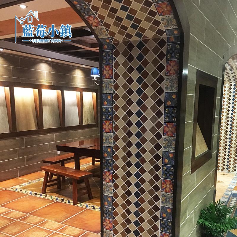 蓝莓小镇五彩腰线瓷砖S16531-1-1