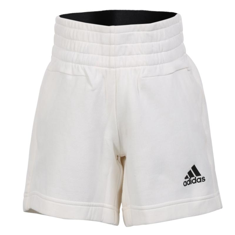 阿迪达斯女大童短裤2018夏季新款舒适透气运动休闲五分裤BP8689