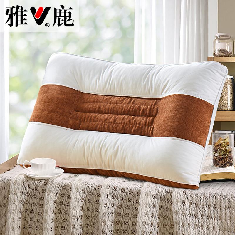 雅鹿决明子枕头枕芯YL9101