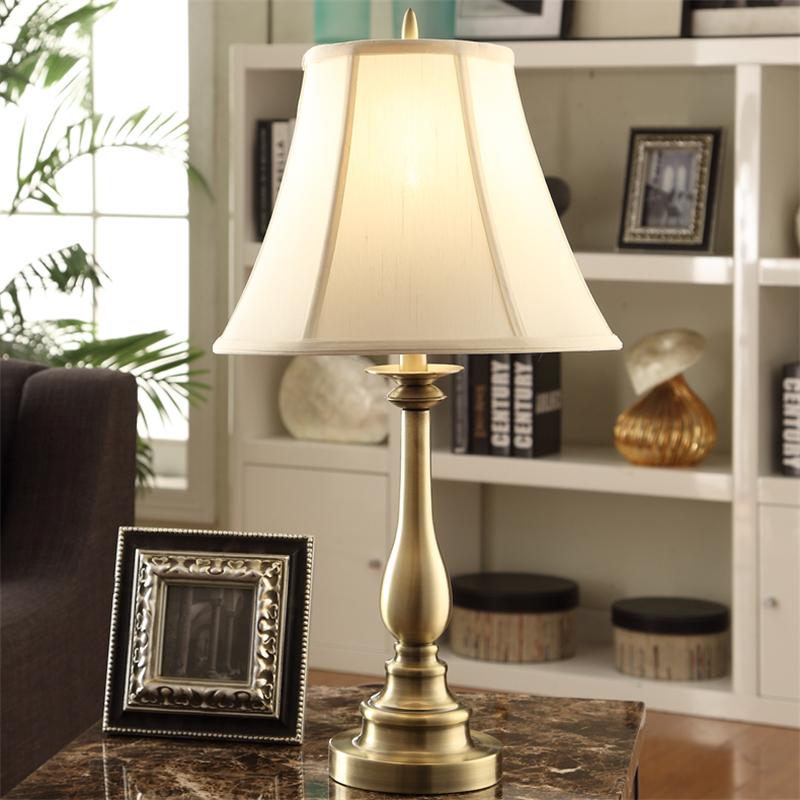 卡特莱特家居美式镀全铜床头灯SG4010