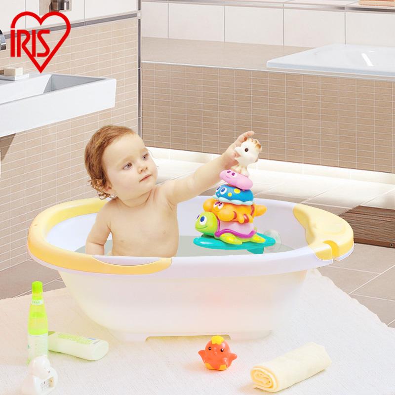 爱丽思iris家用加厚儿童浴盆