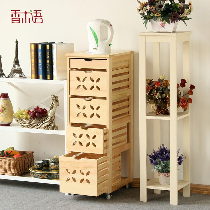 香木语超薄实木餐边柜储物柜