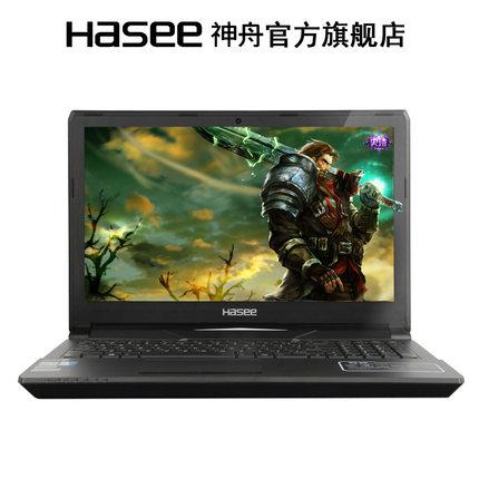 使用Hasee/神舟 战神 CN15S01 Z6-SL7D1 六代I7游戏本评测评价