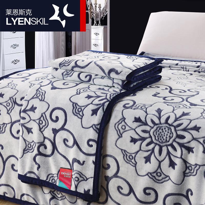 莱恩斯克印花法莱绒毛毯91116040102