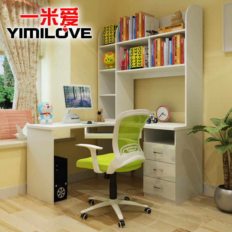 一米爱简约现代台式电脑桌W243