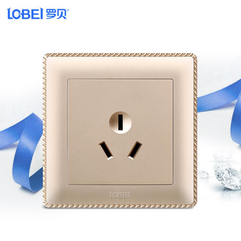 罗贝开关插座面板LB011