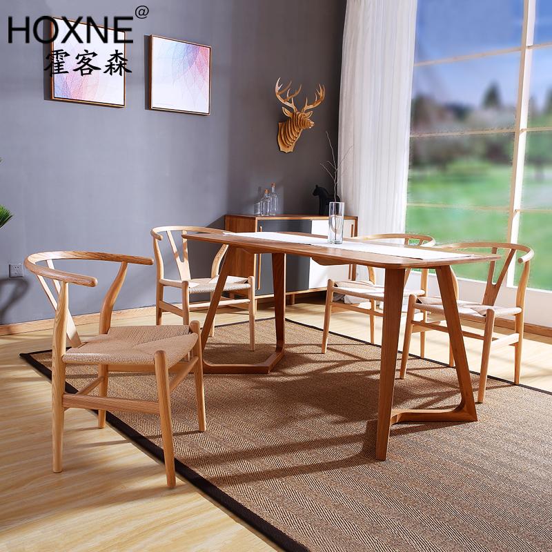 霍客森北欧实木餐桌HOXNE-ZH28
