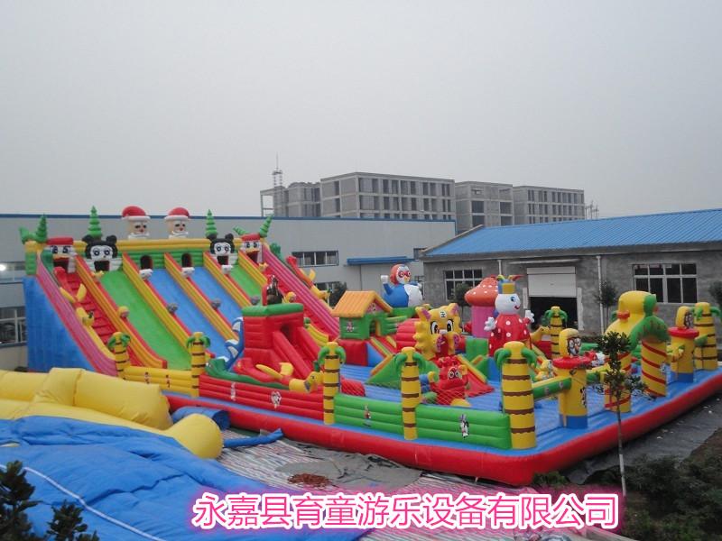 育童室外大型充气玩具蹦跳床