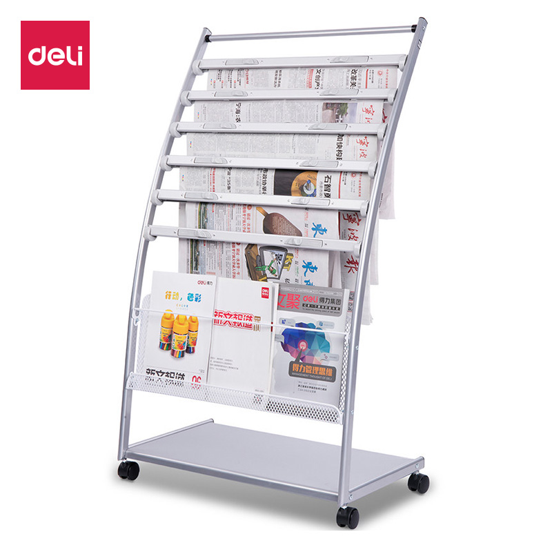 newspaper rack for office. Competent 9303 Magazine Rack Newspaper Office Floor Data Display For P