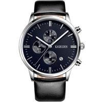 卡诗顿男表 皮带手表 防水商务男士手表 腕表 石英表 手表男