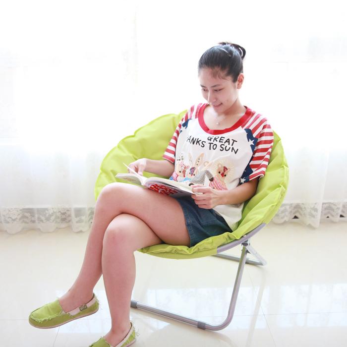 午憩宝炫彩折叠椅懒人沙发椅WQB-YLYA