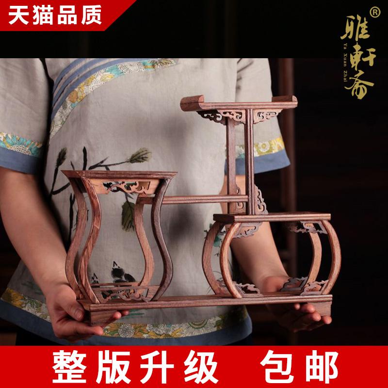 雅轩斋红木紫砂壶小博古架bgj-2011052813