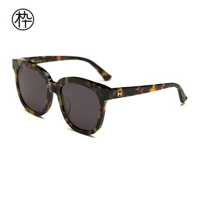 木九十新款太阳眼镜 SM1720055 男女同款 经典复古大框太阳镜墨镜