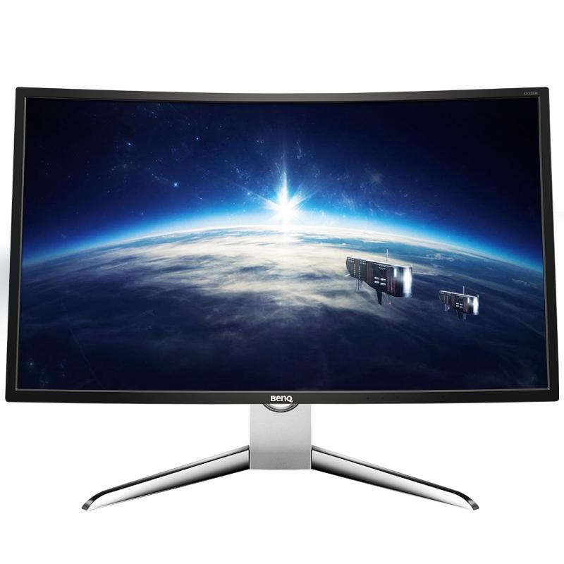明基32英寸EX3200R曲面144HZ电竞游戏1800R电脑MVA屏DP液晶显示器