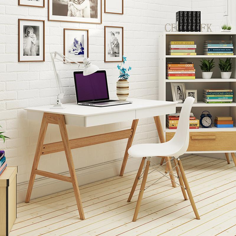 恩麦北欧风格书桌BH684