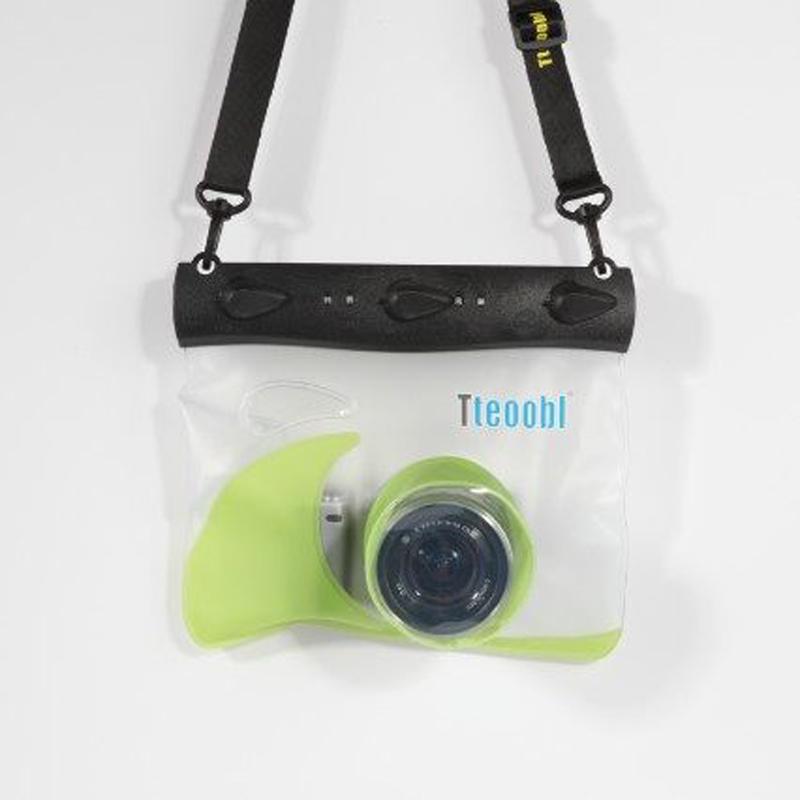 特比乐微单相机防水套 长镜头微单防水袋 潜水游泳漂流包 T-508L