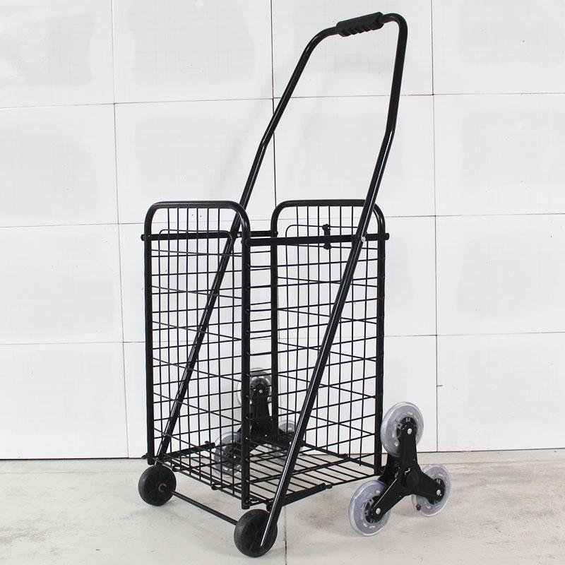 买菜车购物车便携折叠小拉车爬楼手拉车手推车行李车家用老年拖车