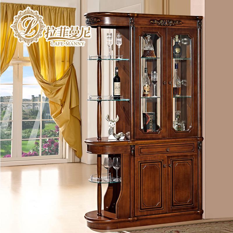 拉菲曼尼家具美式间柜双面隔断柜IX003