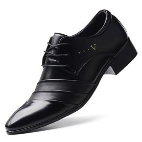 男士商务正装春季皮鞋