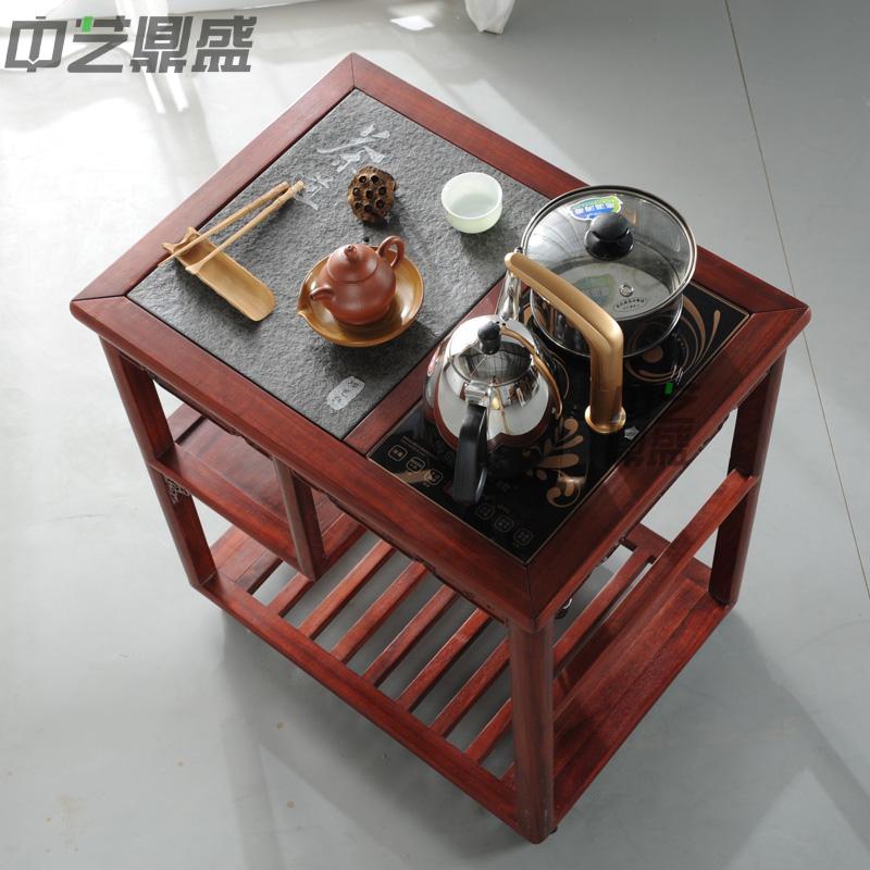 中艺鼎盛车实木小茶桌茶水车