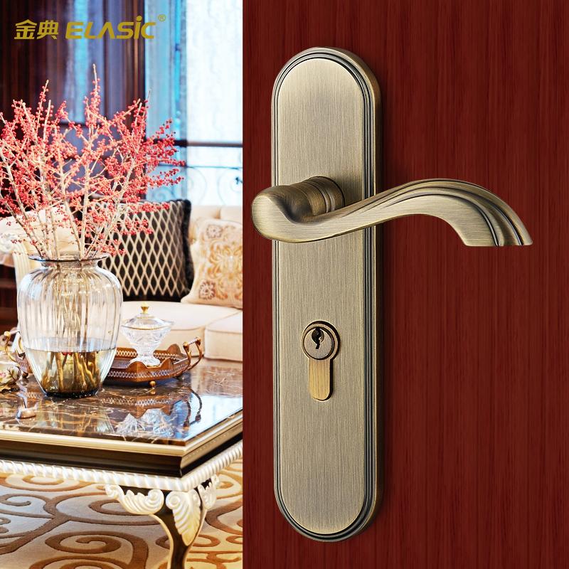 金典室内门锁欧式高档房门锁D8670-ABT