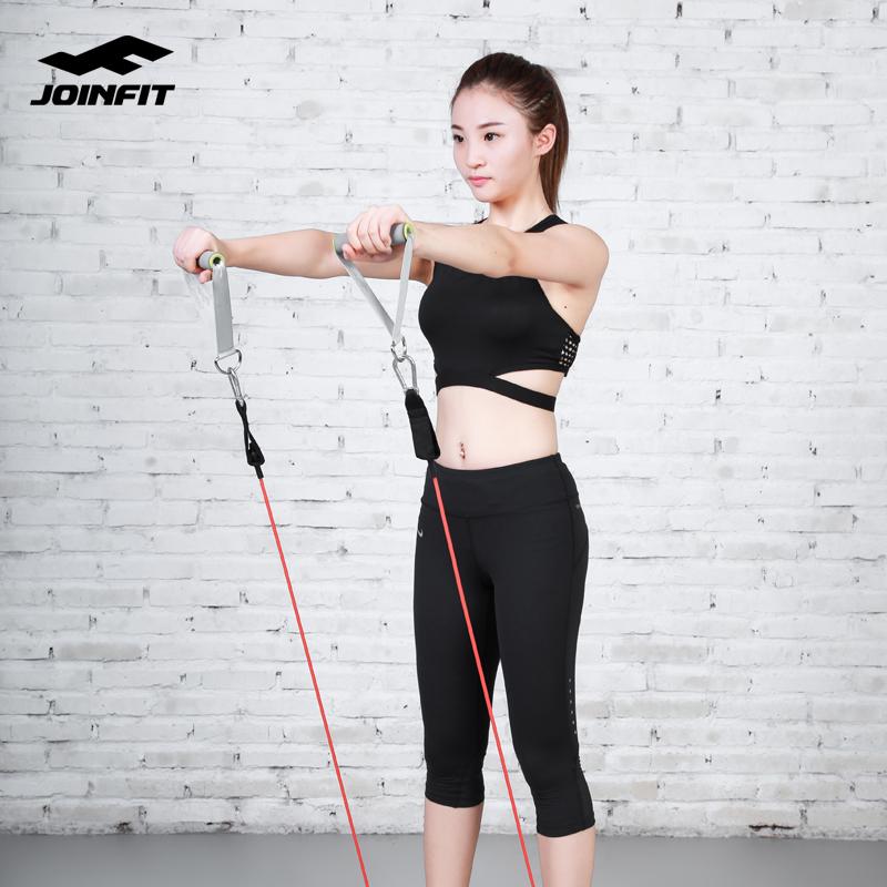 JOINFIT健身弹力绳 男士力量训练弹力带胶管女家用拉力器运动器材