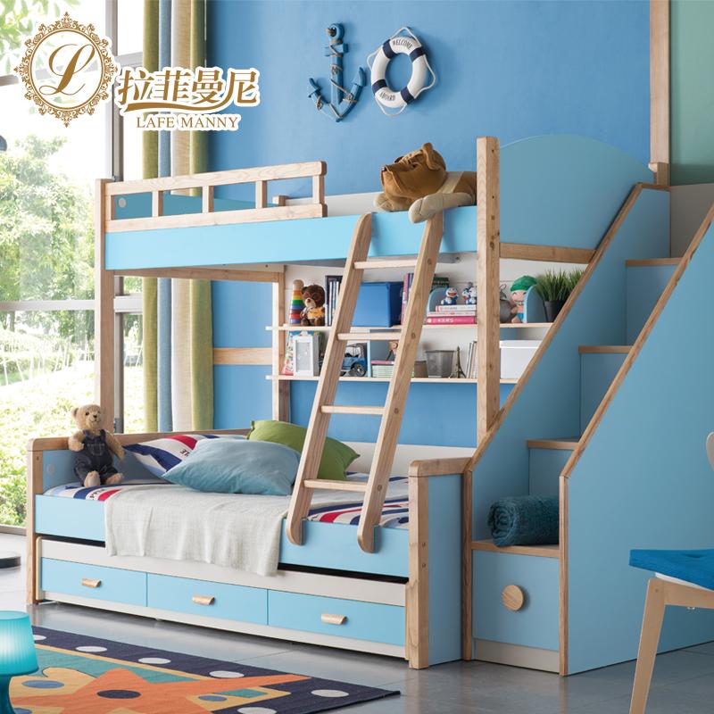 拉菲曼尼韩式子母床高低床上下床双层床WA005-Aold