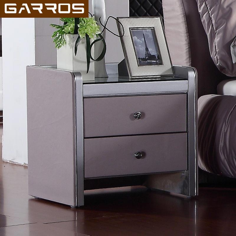 加露斯皮艺床头柜ml02
