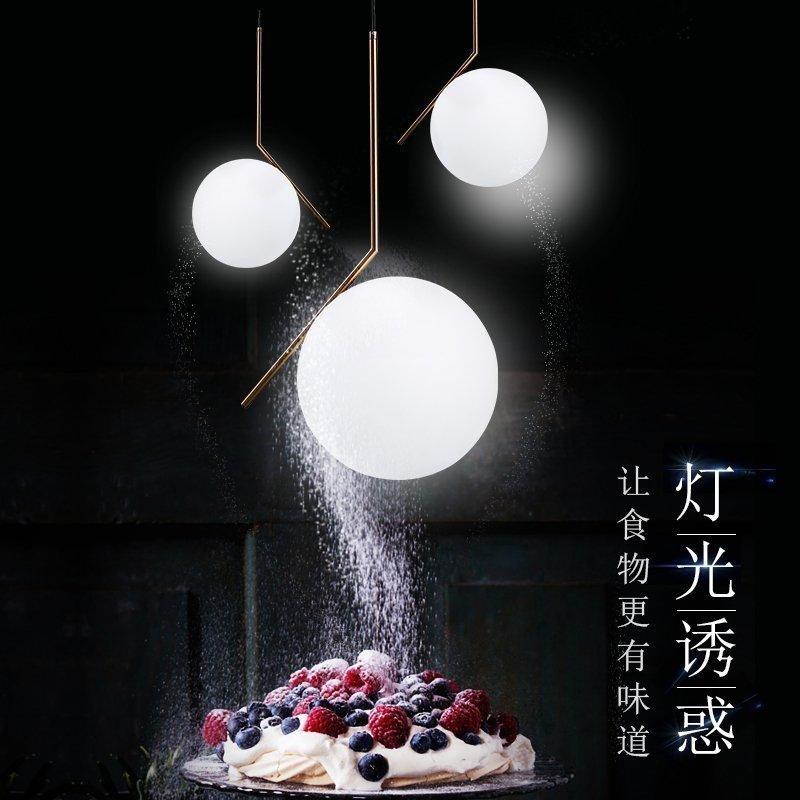 k&c现代简约吊灯 米兰圆球吊灯
