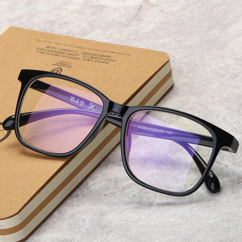 复古眼镜框架女男韩版潮大小框成品近视眼镜配眼睛文艺