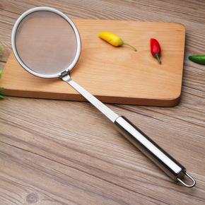 厨房创意不锈钢漏勺滤网