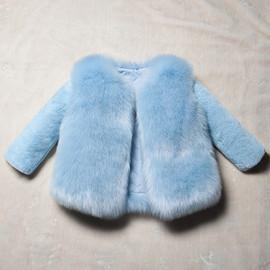 女童加厚皮草外套仅亏1天